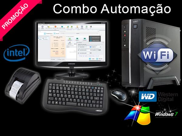 Combo Automação Comercial - CPU Sistema e Impressora