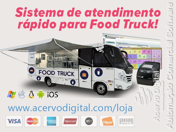 Sistema Touch Para Food Truck Atendimento R Pido