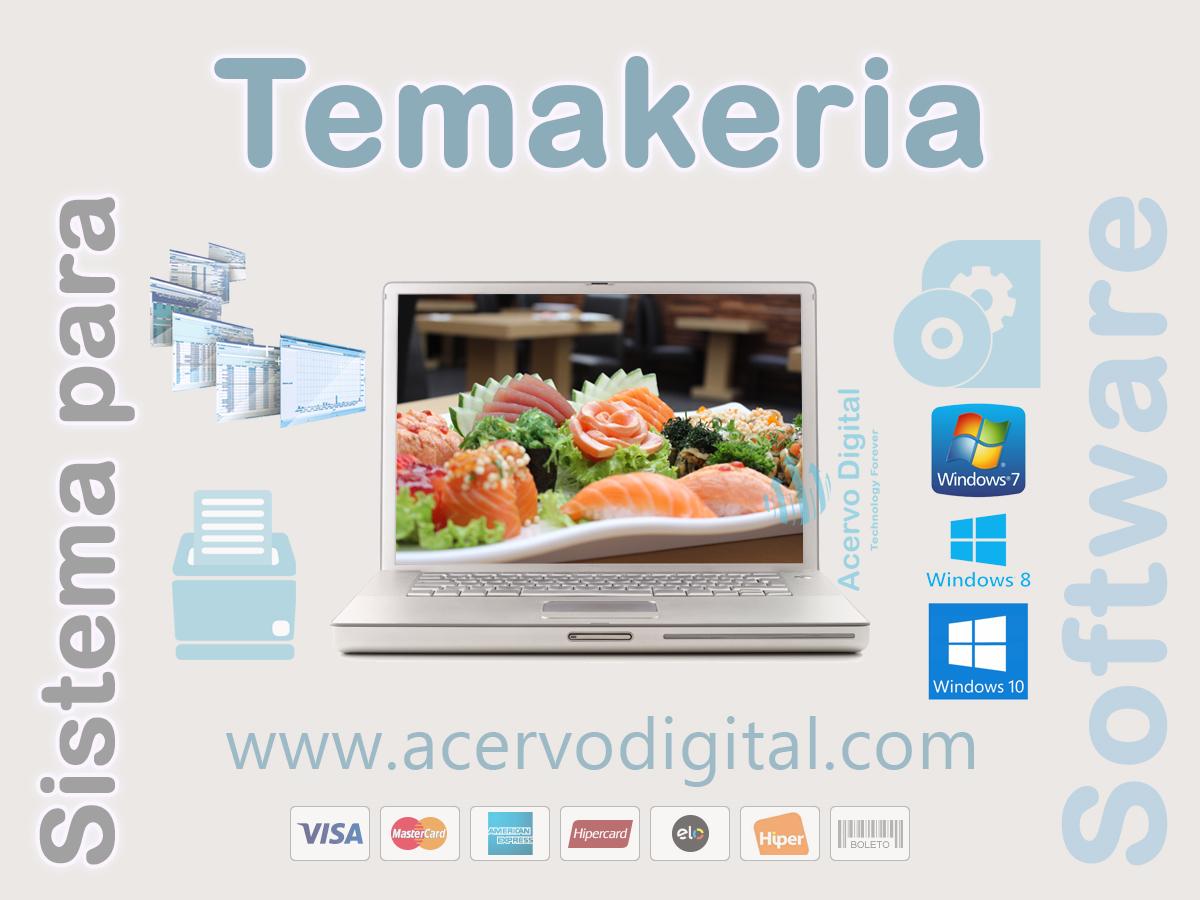 Software para Temakeria