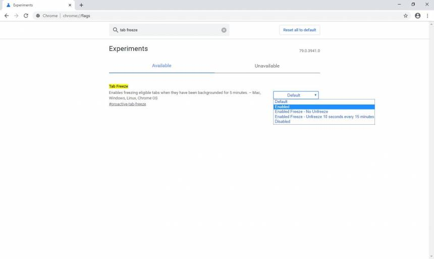 Saiba como habilitar nova função do Chrome para poupar memória RAM1226
